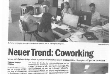 BeWorking at German national press 'Costa del Sol Nachrichten'