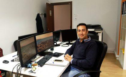 Francisco Pérez, ingeniero reconvertido en informático