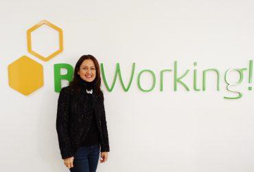 Silvia Ortega, from Malaga and addicted to pilates