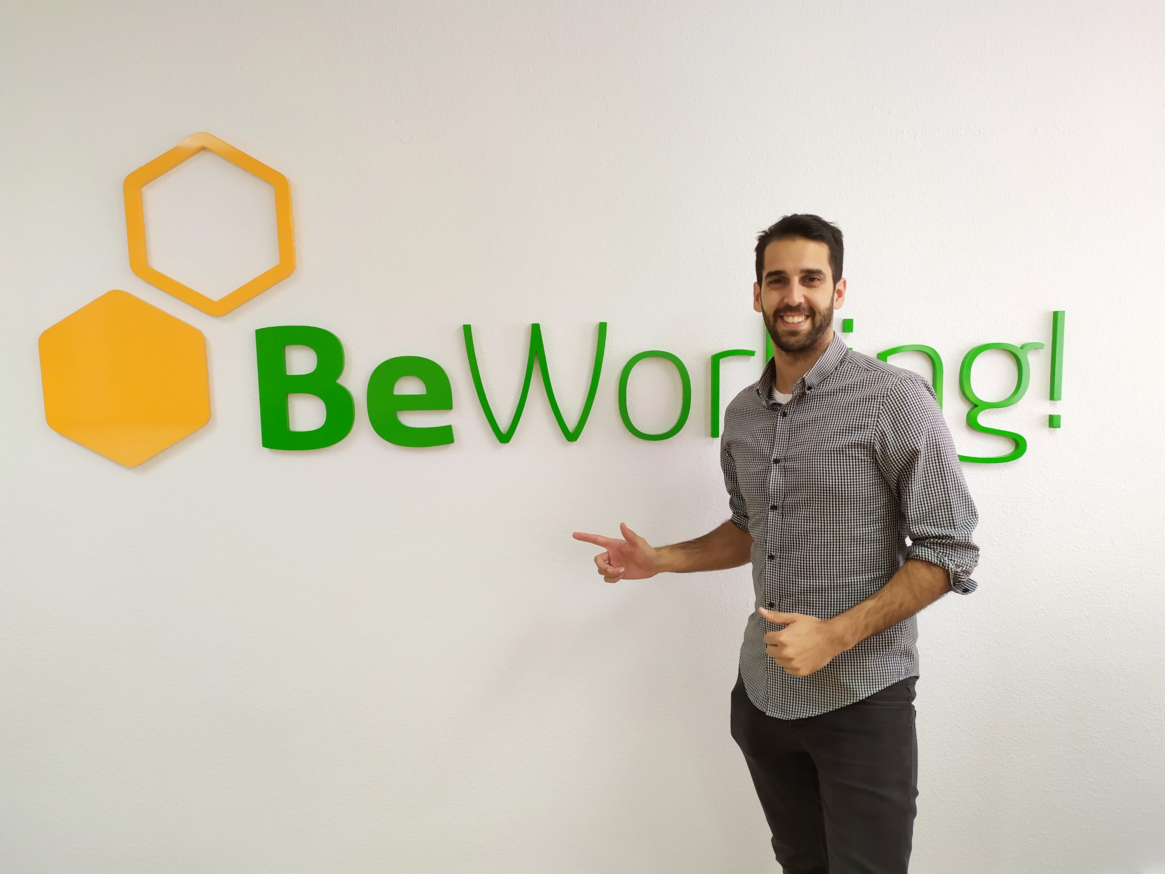 Alberto, Beworker malagueño y gestor de Marketing