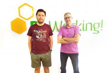 Ángel y Salvador, unos buenos tipos ingenieros informáticos