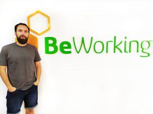 sergio Bengra en nuestro Coworking Málaga (BeWorking)