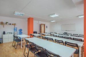 Sala de Formación forma de aula
