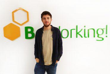 Juan Zafra, a BeWorker with a modern job.