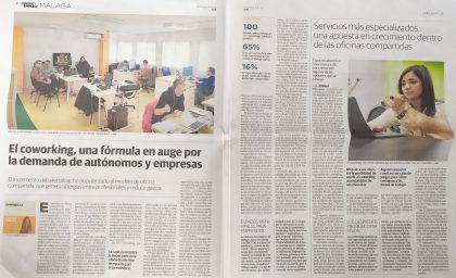 ¡BeWorking en el Diario Sur!
