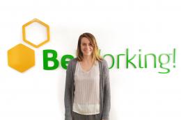 Lina, una beworker de Suecia dedicada a B2B Sales