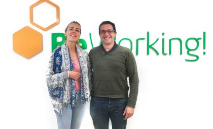 Linda, una beworker freelancer de Marketing