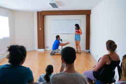 Un taller de impro intensivo impartido por Rafa frías