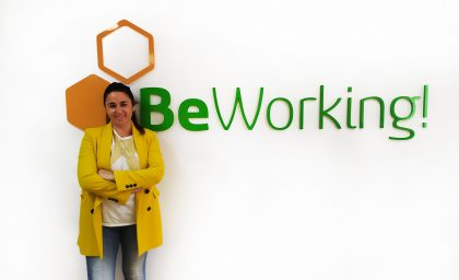 Sofia a BeWorker and employee of Letter Ingenieros