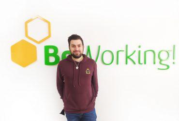 Alberto Jimar, BeWorker dedicado a la creación de contenidos digitales