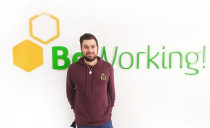 Alberto Jimar, BeWorker dedicated to creating digital content